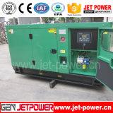 低雑音の低い燃料消費料量4シリンダーAC三相水冷却ディーゼル力30 KVAの発電機
