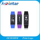 À prova de intempéries as etapas do monitor de ritmo cardíaco do lembrete sedentários bracelete inteligente