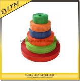 De Sinaasappel van de Polyester van de riem voor het Opheffen van Slinger van de Singelband van het Oog de Vlakke (nhws-a)