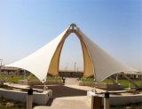 屋根ふき材料ファブリックPTFE上塗を施してある建築膜の構造