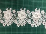 2018 пружину моды 3D-Flower кружева для одежды