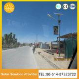 Farolas Solares de alta potencia para la iluminación de la Calle Carretera Parking