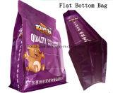 Sac coloré de bas de bloc d'aliments surgelés d'empaquetage flexible