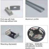 LED 관 알루미늄을%s 일반적인 양극 처리된 LED 단면도