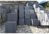Плитки пола естественного черного камня толя камня кварца шифера культурного нутряные