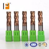 HRC 60の高品質の鋼鉄切断のための固体炭化物の端製造所のカッター