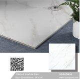中国フォーシャンの極度の白い建築材料の艶をかけられた大理石の磨かれた磁器のフロアーリングの壁のタイル(600X600mm、VRP6D095)