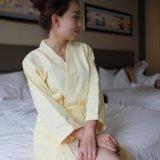 Hotel promocionais / Casa de Waffle Algodão roupão de banho / Pajama / dormir / logotipo Sleepwear com