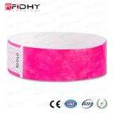 Rendere personale il Wristband di RFID Tyvek per la gestione di attività