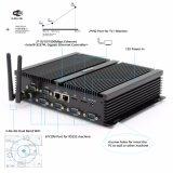 4Kとデスクトップ小型ITXコンピュータI5二重Intel LANポートはRS232シリーズポートを解読する