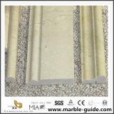 壁の装飾のための大理石の自然な石造りの建物のトリム