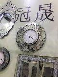 装飾および大きいサイズミラークロックのためのミラーが付いている新しい柱時計