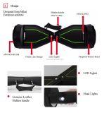 Koowheel 6.5 Zoll-elektrischer Ausgleich-Roller Hoverboard (K8)