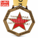 La concorrenza su ordinazione di vendita calda di Zhongshan Guangdong mette in mostra le medaglie di giorno