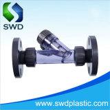 DIN / ASTM D2467 sch80 clair du raccord de tuyau en PVC