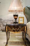 0070-1 단단한 나무는 높은 광택 색칠 침실용 소탁자로 호화스러운 베니어를 덮었다