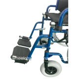 Rueda del rayo, acero manual, sillón de ruedas Muti-Funcional, de nylon, lisiado
