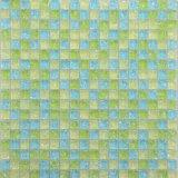 Py027 Chino verde claro Brasil mosaico de vidrio vítreo