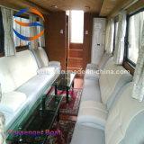 taxi del agua del barco de pasajero del 14.28m con la carrocería del barco de FRP