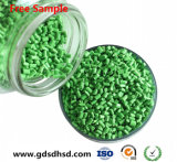 Hellgrüner Masterbatch gute Qualitätskunststoff