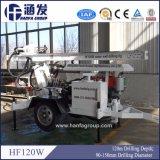 Hf120Wの農場の灌漑用水の井戸の掘削装置機械