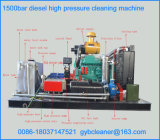 Bar 1000-1500Motor Diesel de jacto de água a alta pressão máquina de limpeza