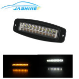 18W는 빛 색깔 LED 모는 일 램프 SUV ATV UTV LED 경고 일 이중으로 한다