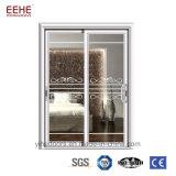 Furto del portello di vetro di scivolamento del comitato di triplo dell'isolamento termico l'anti facile installa/pulisce
