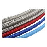 Más duraderas de tamaño personalizado 100% puro de Teflon Virgen de la SS 304 trenzado manguera espiral de PTFE
