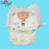 아기를 위한 직물 최고 Panty 최상 처분할 수 있는 비 길쌈된 기저귀