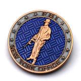 Promoción de la mayorista moneda conmemorativa de metal chapado en personalizado para la venta