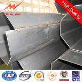 16m kleine Bodenfläche-Übertragung galvanisiertes Stahlrohr elektrischer Pole