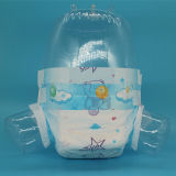 Super Dry Pâte en flocons jetables couches pour bébés de grade B