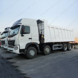Sinotruk HOWO 덤프 트럭 A7 팁 주는 사람 트럭 8X4 팁 주는 사람