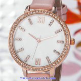 quartz Wist Watch 의 숙녀 시계 (WY-17027A) OEM 메시 합금 결박 숙녀
