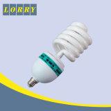 Grande ampoule 45W de bobine de grande demi de lampe économiseuse d'énergie spiralée