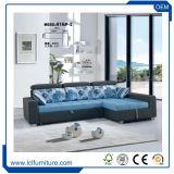 Großverkauf zieht Sofa-Bett mit Fach, preiswerter Metallrahmen-Sofa-Bett-Entwurf aus