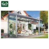 Proteção UV chuva Sun com canópia exterior da estrutura de alumínio utilizado toldos