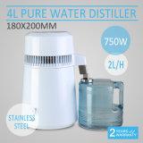 110-120V purificador puro del destilador del agua de la CA 750W 1gal 4L con Ce
