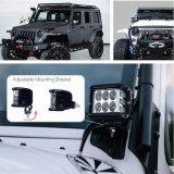 Indicatore luminoso laterale del lavoro di lumen 45W LED dell'indicatore luminoso di inondazione del punto 5000 per il camion fuori strada della jeep