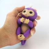 혁신적인 저가 전자 핑거 애완 동물 아기 대화식 장난감 작은 물고기
