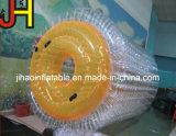 Rouleau de marche de l'eau gonflable coloré Zorb Ball pour jeux d'eau