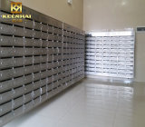 Bureau commercial fait sur mesure en acier inoxydable de boîte aux lettres de journal