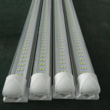 8FT 60W de doble hilera integrada de la luz del tubo LED T8