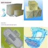 napkin Hot Melt Adhesive 고품질 중국에서 비용 절약 숙녀 접착제