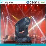 280W illuminazione capa mobile della fase del fascio LED per la discoteca