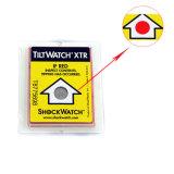 Etiqueta do indicador da etiqueta do sensor da inclinação para soluções de empacotamento personalizadas