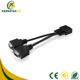 5FT draagbare Gegevens Power PC 9pin dB Adapter