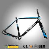 Fibra cinese del carbonio interna tutta la pagina della bicicletta della strada di percorso di cavo