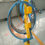 machine de formage tube en spirale de la gaine de ventilation rendant la production